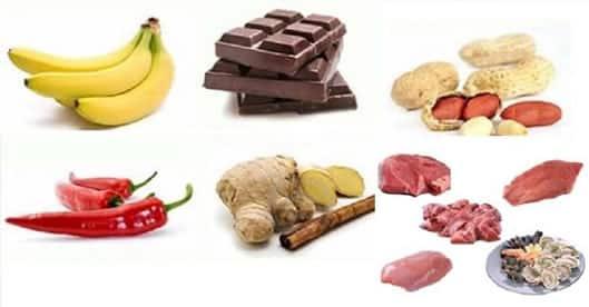 alimentos para aumentar a libido